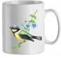 Preview: Kaffetasse Motiv Vogel