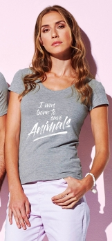 T-Shirt -I was born to save animals-
